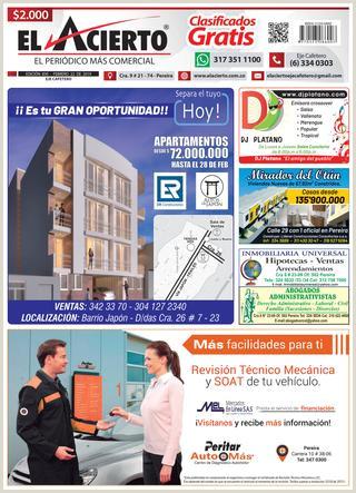 PEREIRA 830 22 febrero by El Acierto issuu