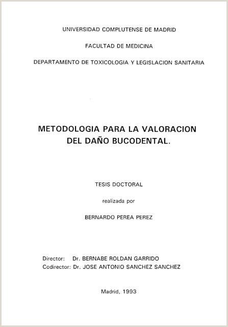 Descargar Hoja De Vida Minerva Metodologia Para La Valoracion Del Da'o Bucodental
