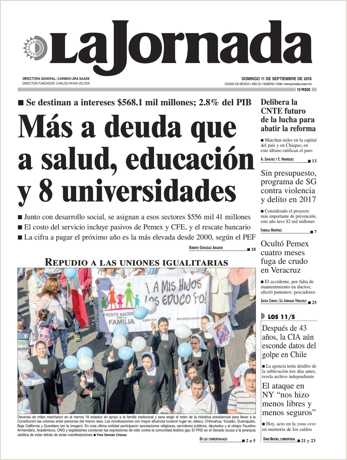 La Jornada 09 11 2016 by La Jornada issuu