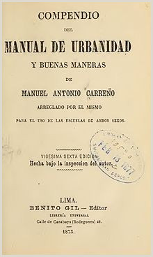 Manual de Carre±o la enciclopedia libre
