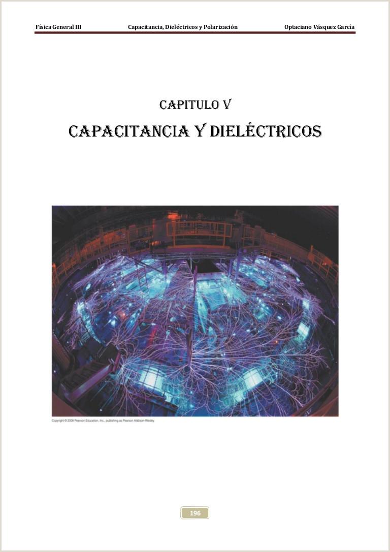 CAPITULO 5 CONDENSADORES Y DIELECTRICOS