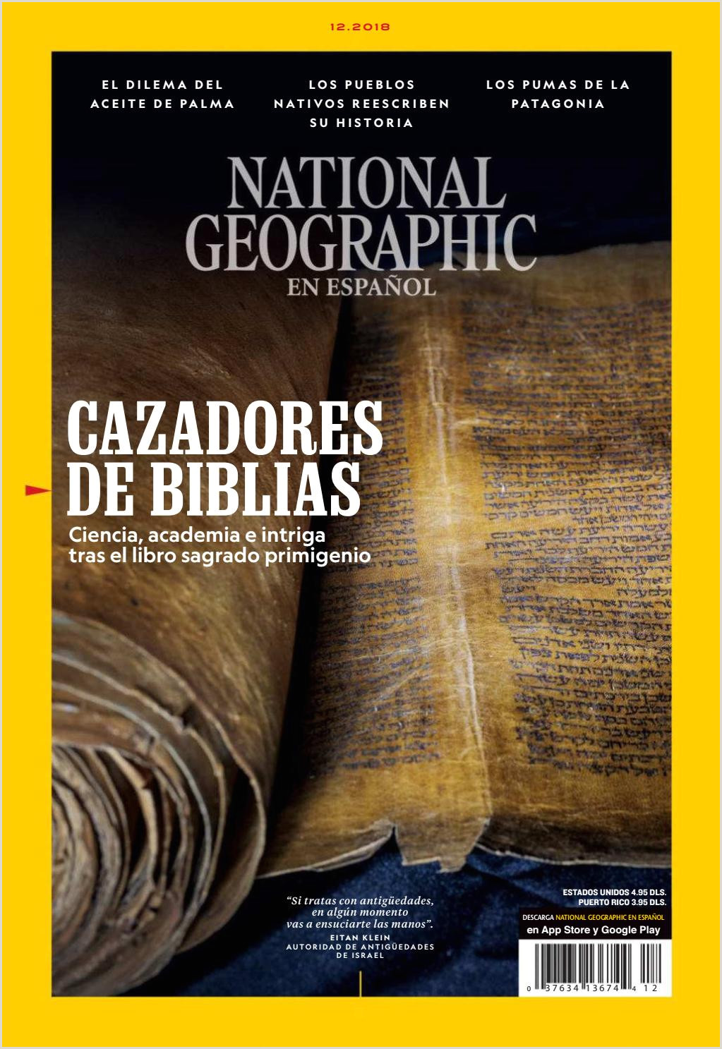 National Geographic en Espa±ol Diciembre 2018 by Carlos