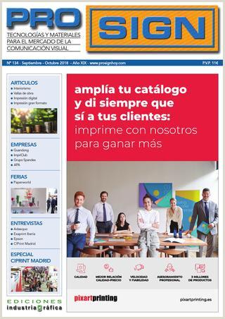 Descargar Hoja De Vida socio Empleo Prosign 134 Septiembre Octubre 2018 by Ediciones