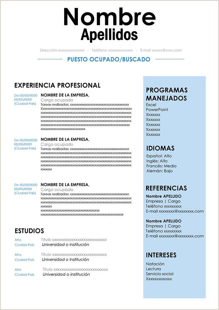 Formatos De Resume Apmayssconstructionword formato carta