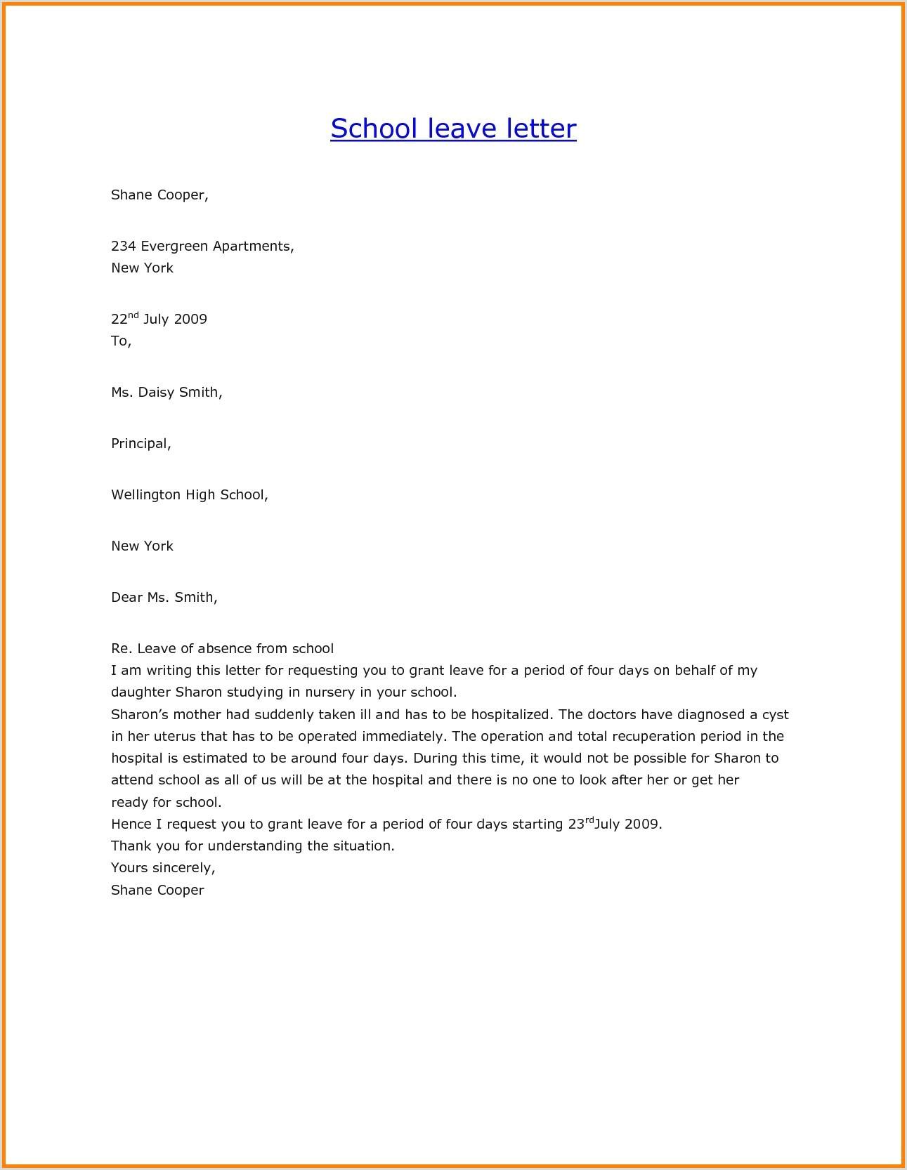 Descargar Plantilla De Curriculum Vitae Basico Para Rellenar Sample Letter Leave Absence