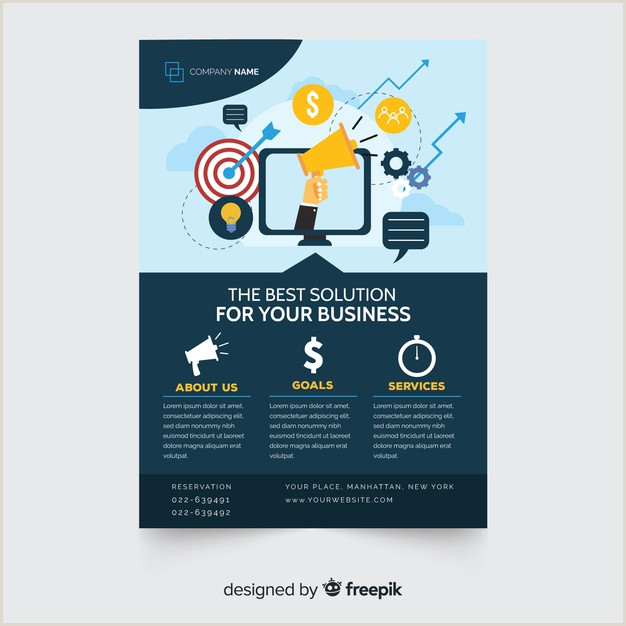 Plantilla de folleto de negocios