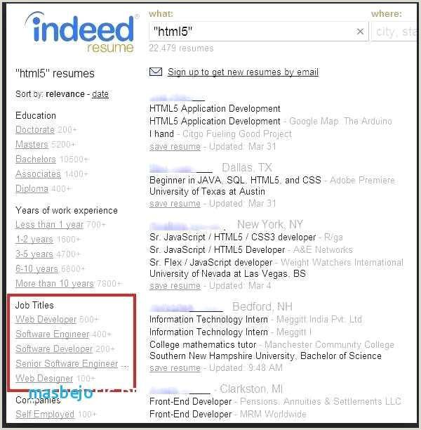 Software Engineer Resume Examples Senior software Developer