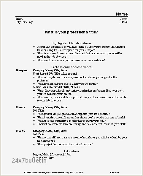 Inspirational Desktop Resume