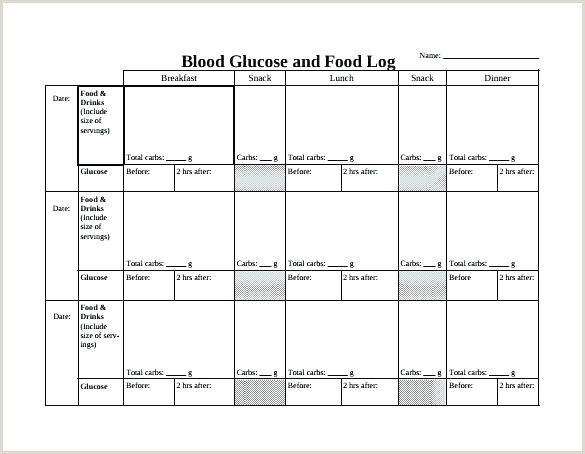 Medication Dispensing Blood Glucose Tracking Sheet Sugar