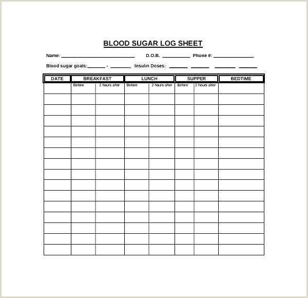Diabetic Printable Log Book Sheet Diabetes Test Log Template