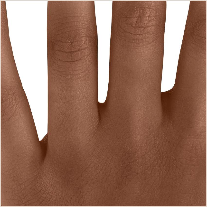 Diamond Carat Size Chart On Hand 18k White Gold Viviana Diamond Ring 1 3 Ct Tw