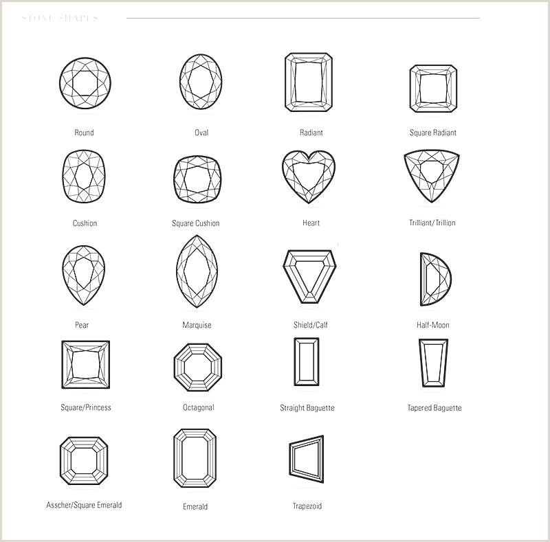 Diamond Size Chart On Hand Diamond Cut Chart New Diamond Cut and Clarity Table Diamonds