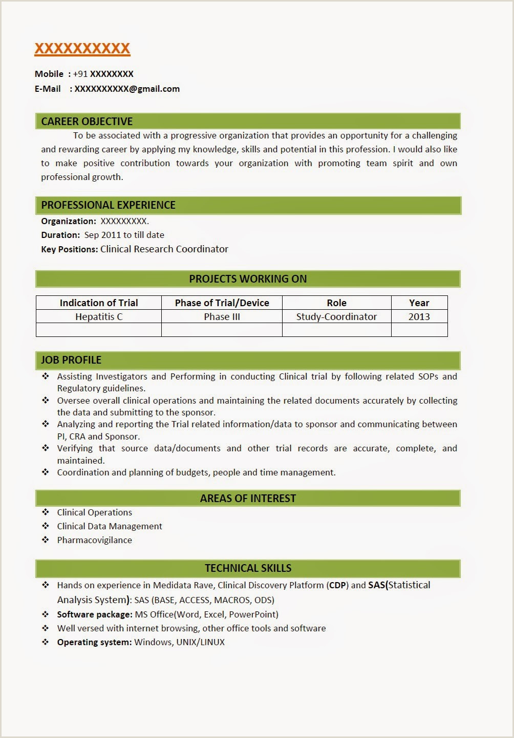 Diploma Fresher Resume Format Doc Simple Resume Format For Diploma Students