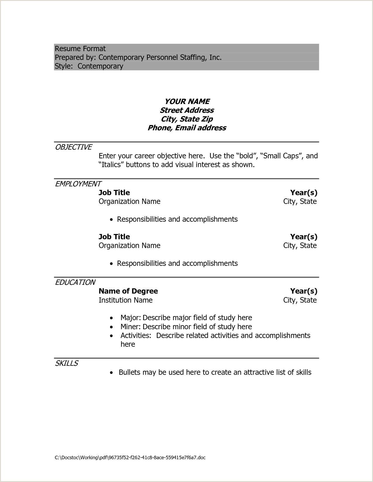 Diploma Fresher Resume format Pdf Engineering Resume format