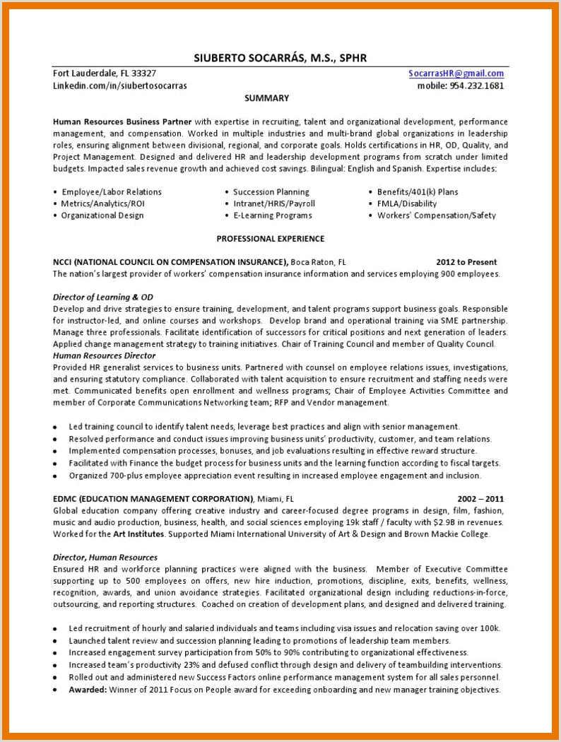 8 9 residence director cover letter