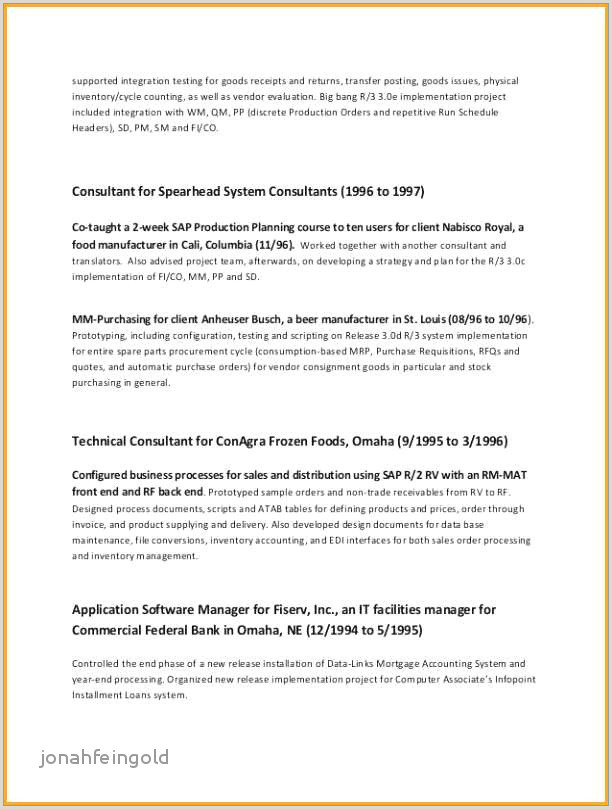 Director Of Sales Resume It Director Resume Sample Inspirational Technical Project