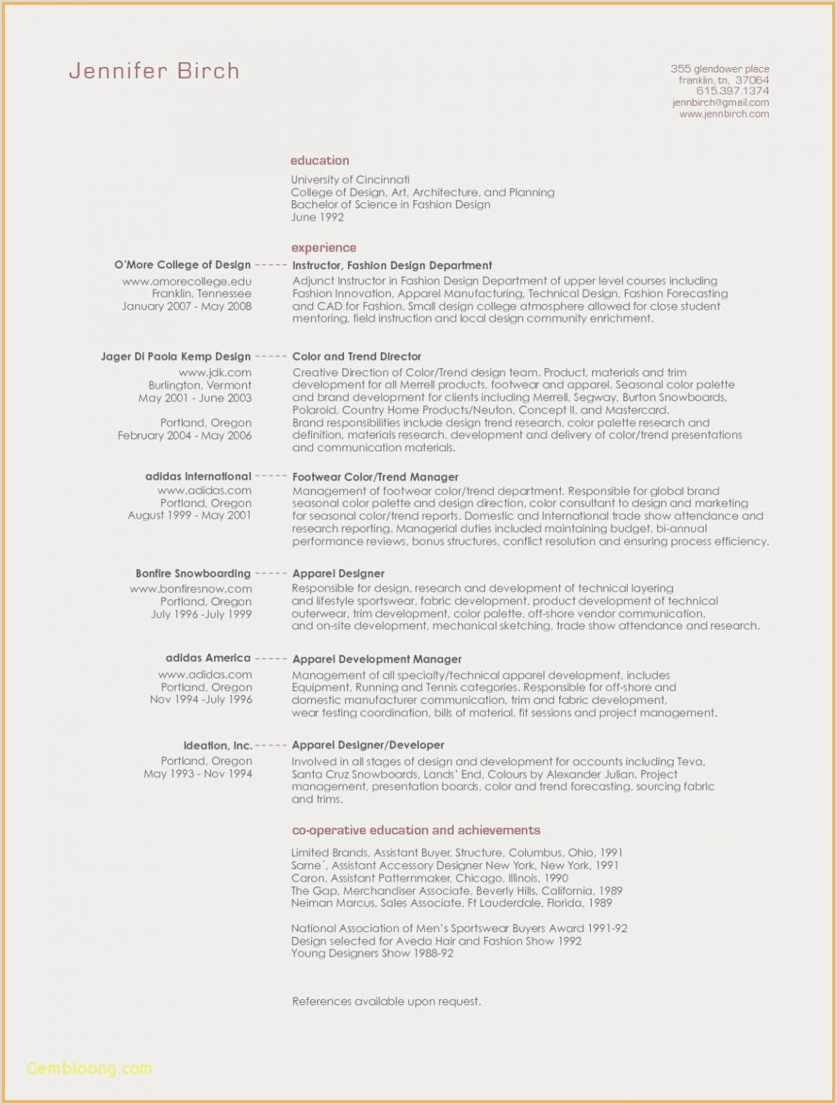 Lovely Sales Operations Manager Resume Sample – 50ger