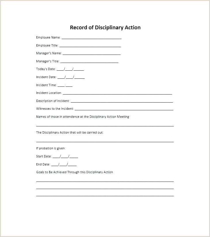 employee write up form doc – scsllc