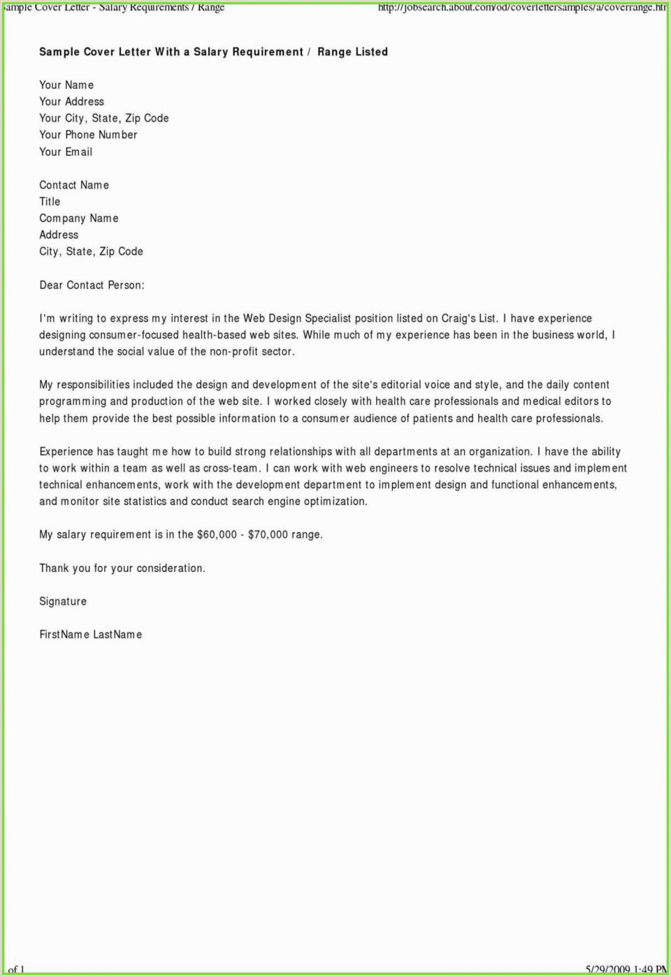 Good Cover Letter Examples Nonprofit Valid Help Me Make A