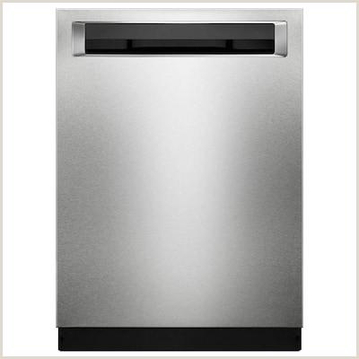 46 Decibel Built In Dishwasher Fingerprint Resistant Stainless Steel with Printshield mon 24 Inch Actual 23 875 in ENERGY STAR
