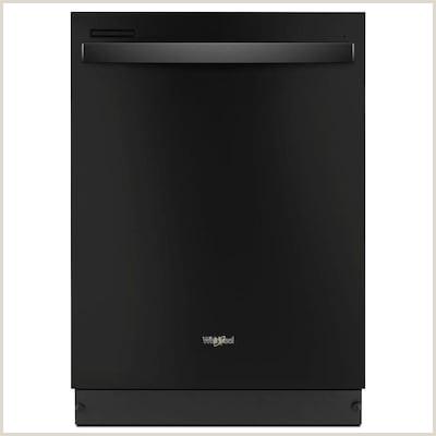 51 Decibel Built In Dishwasher Black mon 24 Inch Actual 23 875 in ENERGY STAR