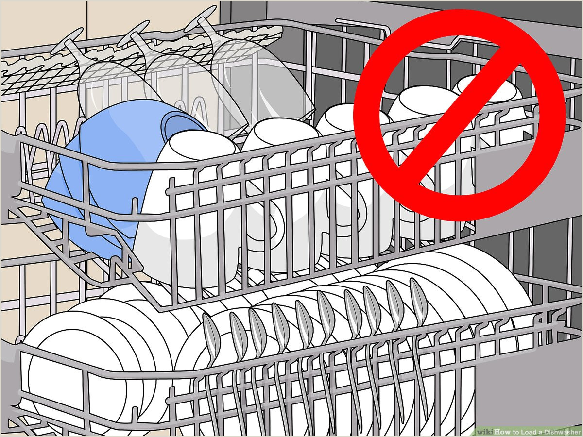 Dishwasher Utility Job Description How to Load A Dishwasher with Wikihow