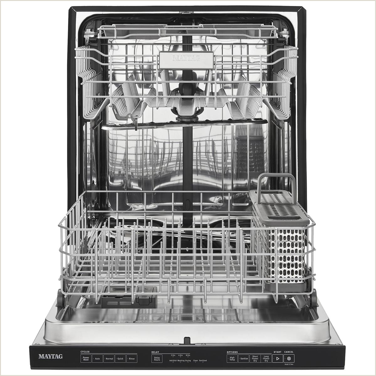 Maytag Built In Dishwasher in Black