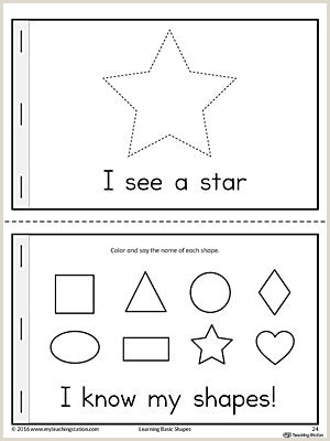 Disney's Mission Statement My Shape Book Printable