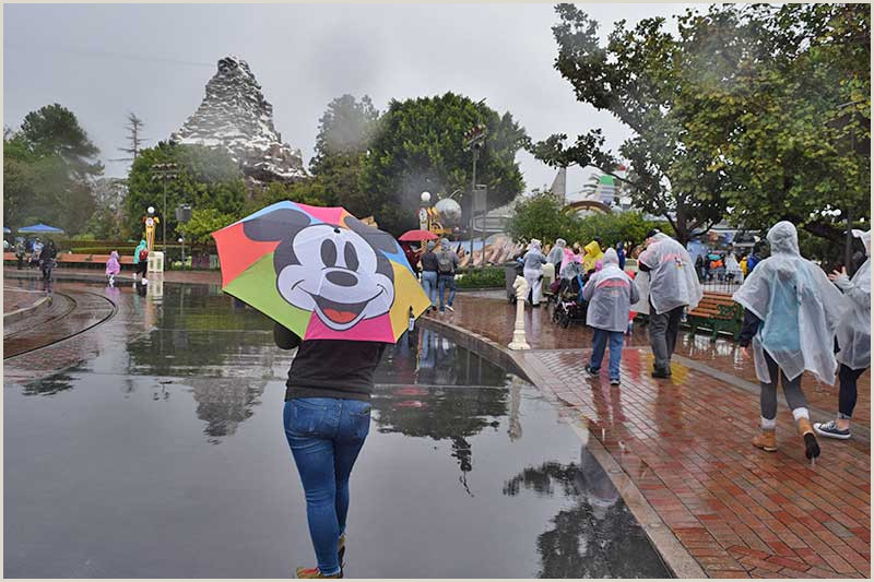 8 Disneyland Rainy Day Tips the Best Rides to Keep You Dry