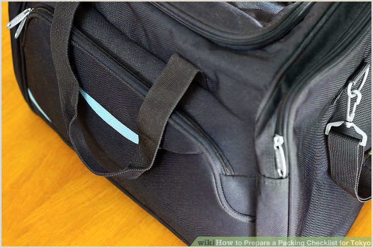 How to Prepare a Packing Checklist for Tokyo 9 Steps