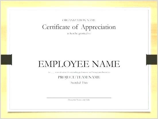 Employee Service Award Certificate Template Elegant The