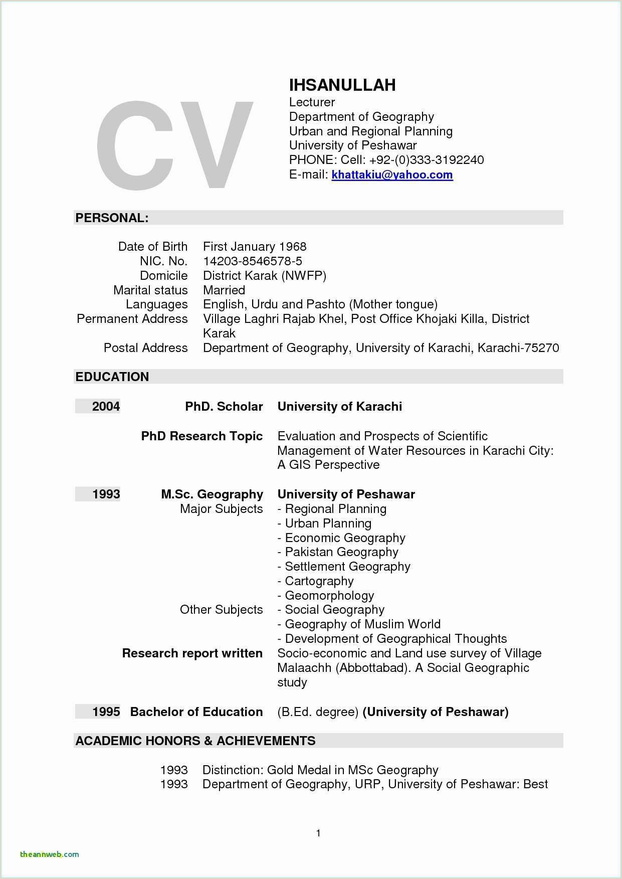 Sample Educational Resume Examples Sample Resume Business