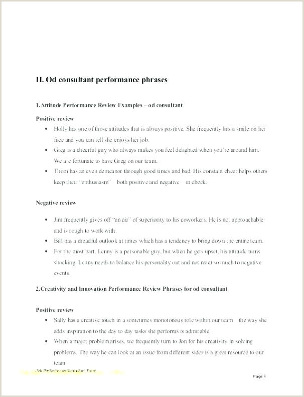 Employee Annual Reviews Examples Fresh Performance Review