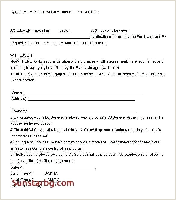 dj agreement contract template – pepino