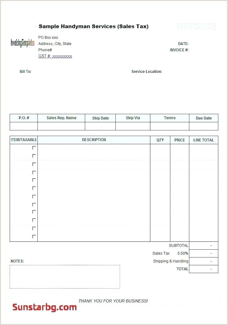 Free Invoice Template Mac Dj Word