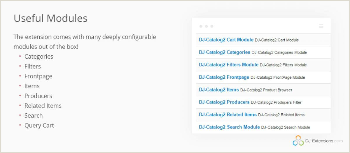 DJ Catalog 2 by DJ Extensions Joomla Extension Directory