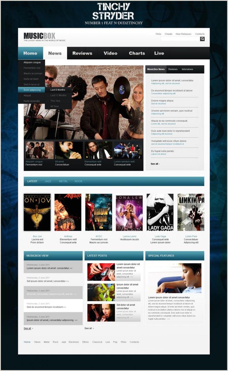 Dj Website Templates Wordpress 20 Best Dj Wordpress Website Templates & themes