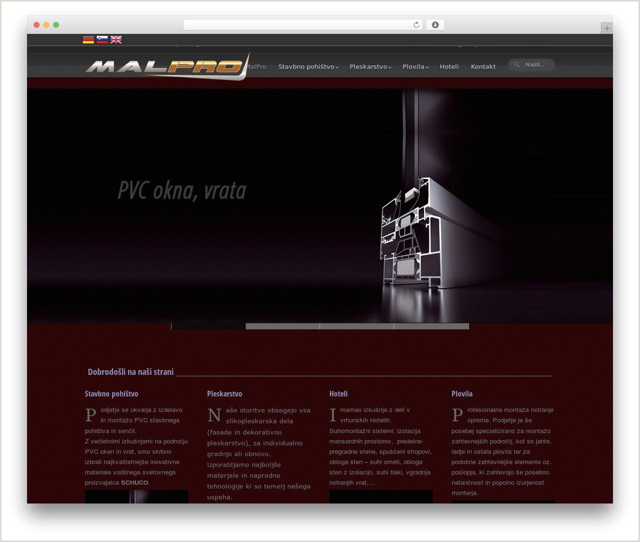 Meari WordPress website template by Hana malpro