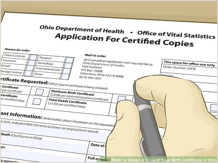 Dob Certificate Format 4 Ways To Obtain A Copy Of Your Birth Certificate In Ohio