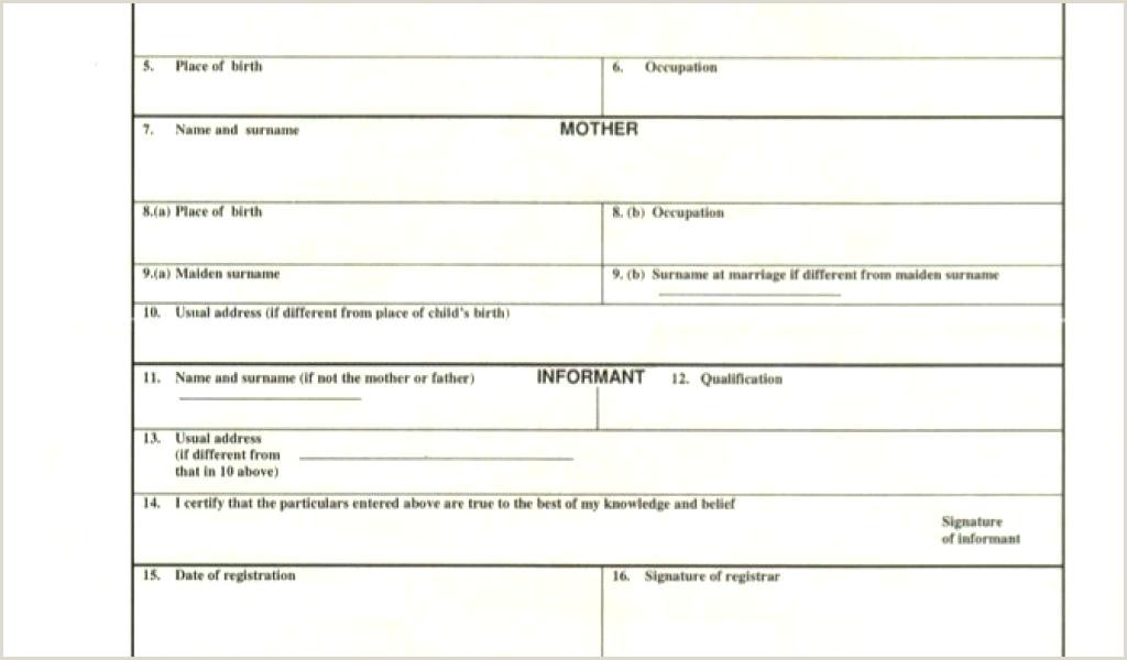 Dob Certificate format Birth Certificate Template format Download Real Gauge