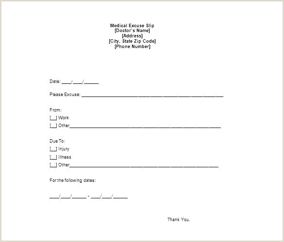 Doctors Note For A Cold Doctor Excuse Letter School Template