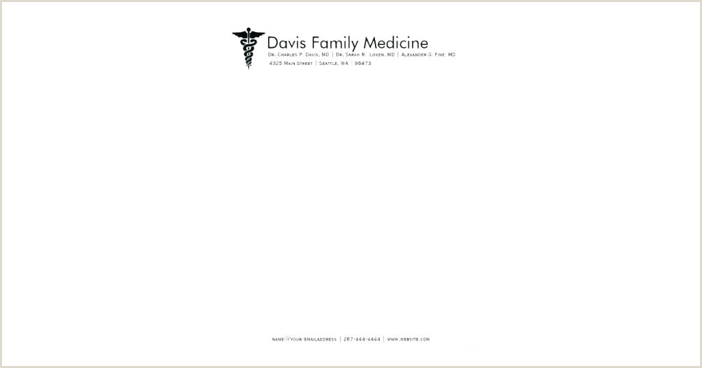 Doctor Letterhead Examples Doctor Medical Receipt Free Download format Template
