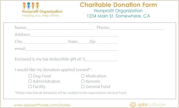 Pledge Form Template 8 Sample Pledge Forms Word Donation