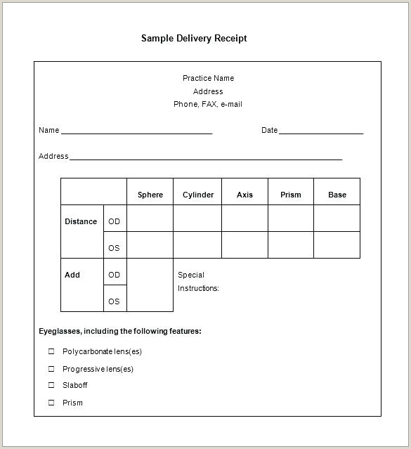 Tax Receipt For Donation Goodwill Form Template