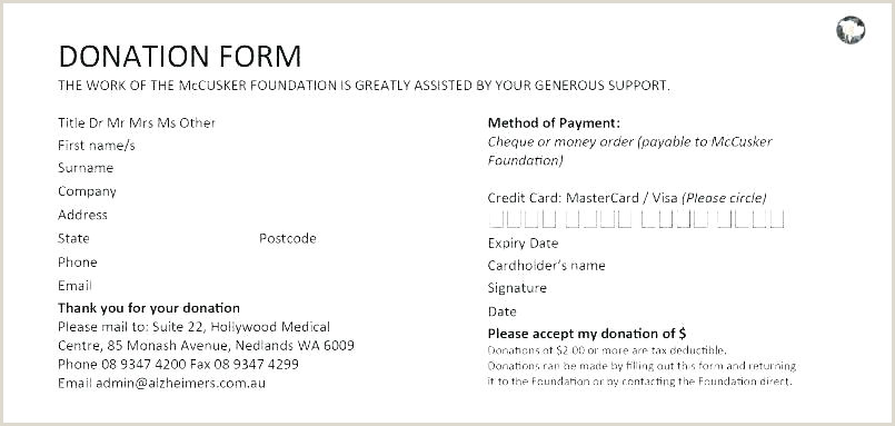 Donation Reply Card Template Non Profit Donation Card Template Pledge Non Profit Donation