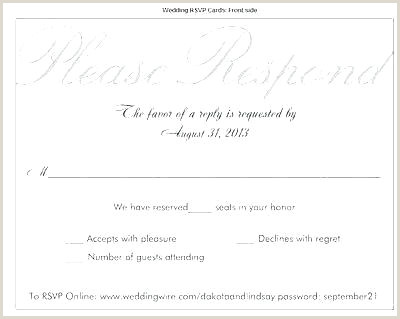 wedding invitation reply card template