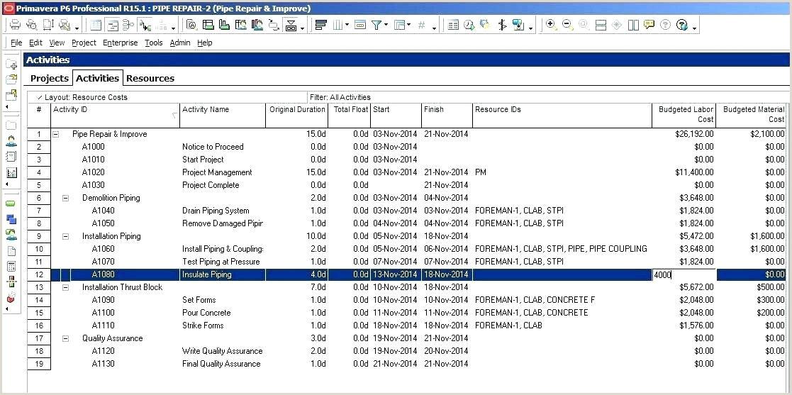 Material List Template Bill Materials Report Template