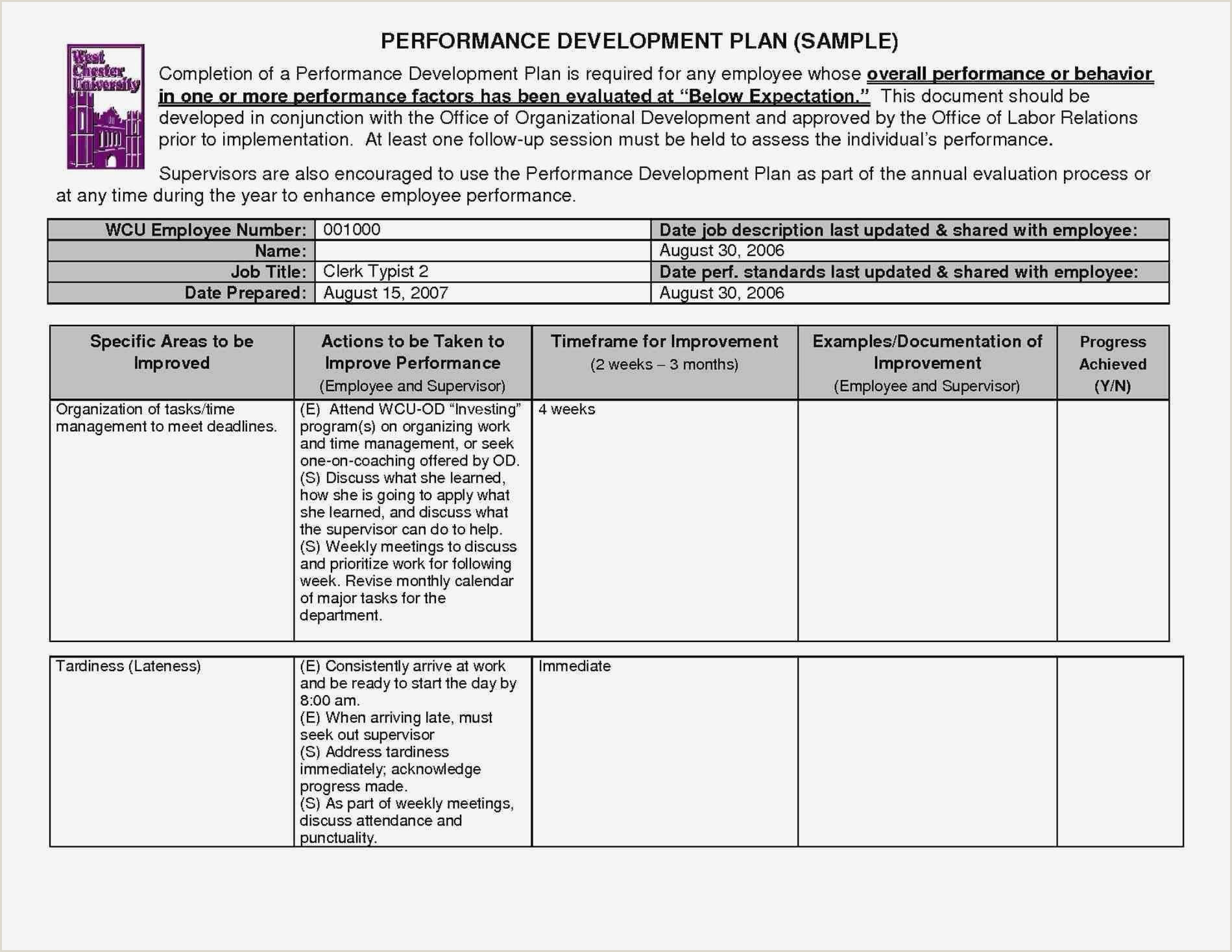 Corrective Action Plan Template Letter Sample Safety Word