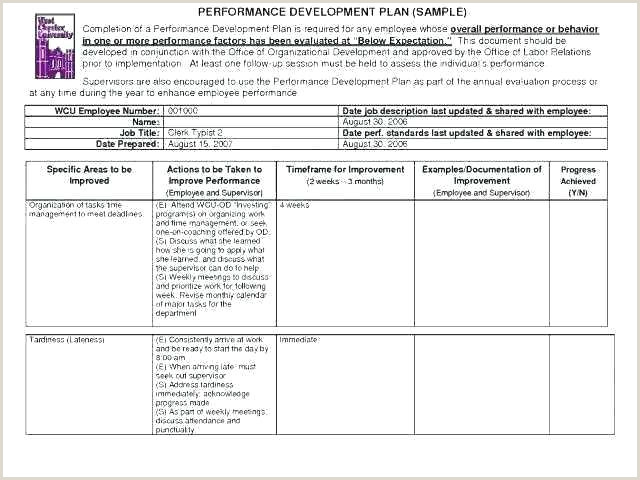 Corrective Action Plan Template Proposal Free For Employee