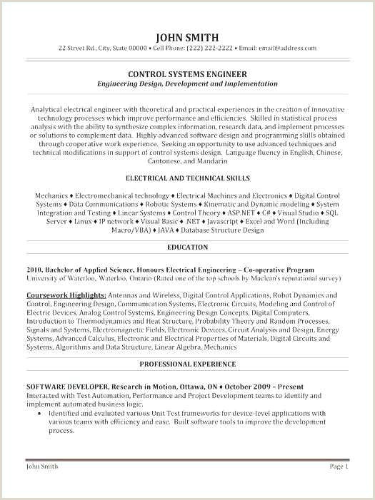 Software Developer Resume Sample Free Basic Resume Template